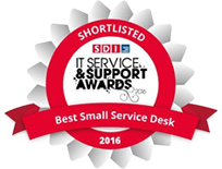 SDI IT Service & Support Awards 2016