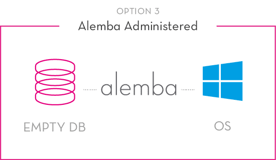 Alemba Cloud Option 3
