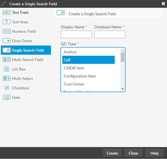 Custom Search Creation screenshot