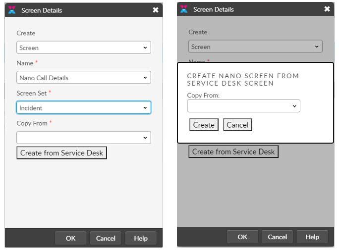 Copy screens from Core to Nano screenshot
